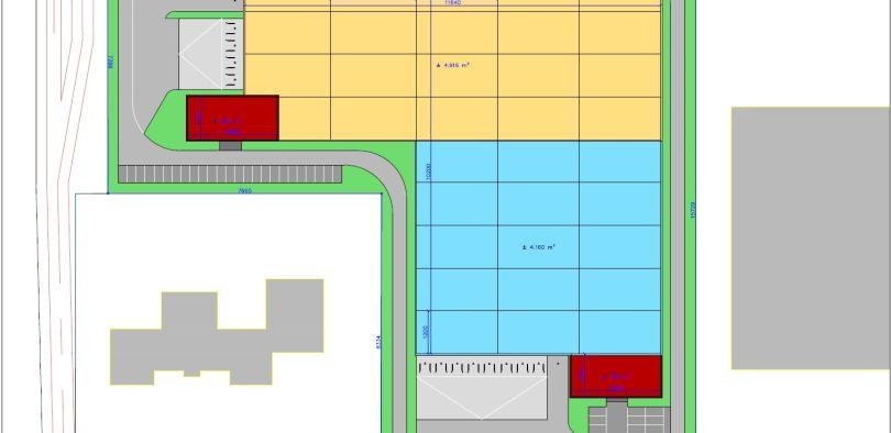 Industriel & Logistique à louer à Bornem