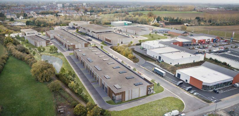 Industriel & Logistique à louer à Gembloux