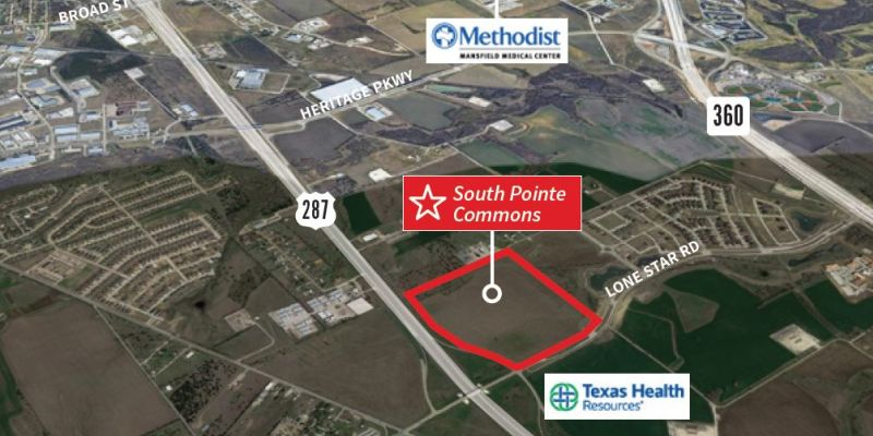South Pointe Commons, Mansfield, JLL PowerSearch