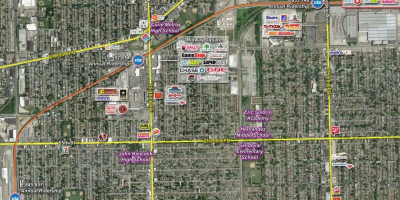 Kedzie Plaza, Chicago, JLL PowerSearch