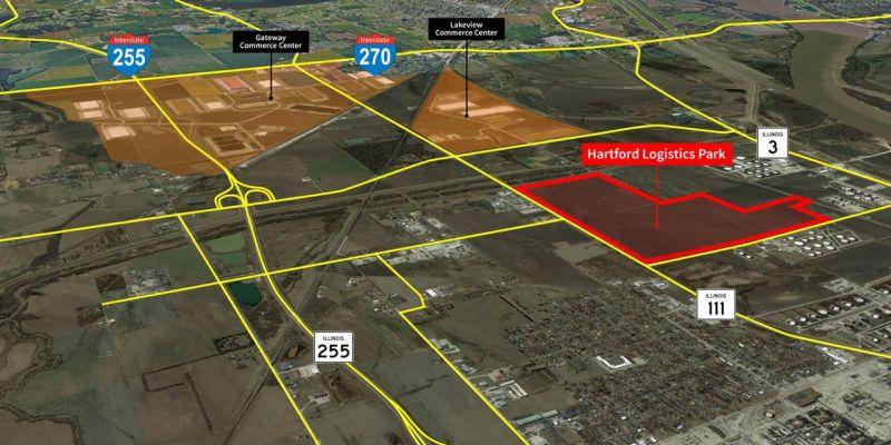 Hartford Logistics Park, Hartford, JLL PowerSearch