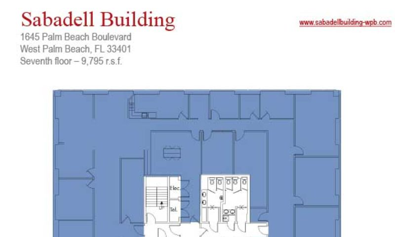 Sabadell United National Bank Building, West Palm Beach, JLL PowerSearch