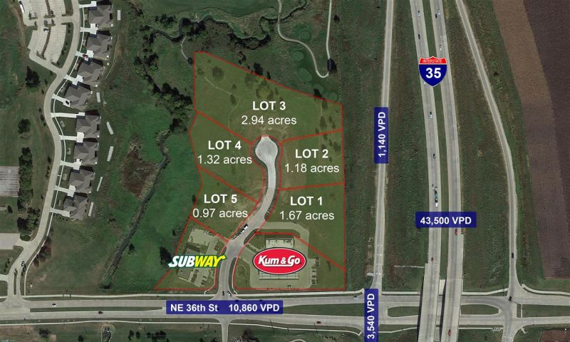 Otter Creek Commercial Land, Ankeny, JLL PowerSearch