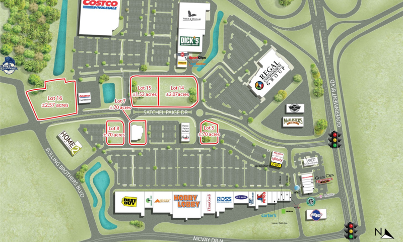 McGowin Park Outparcels, Mobile, JLL PowerSearch