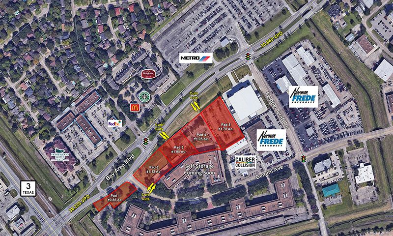 501 Bay Area Blvd, Houston, JLL PowerSearch