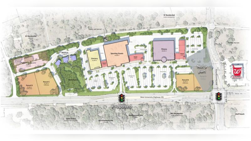 Bluebonnet Plaza - Retail - Lease