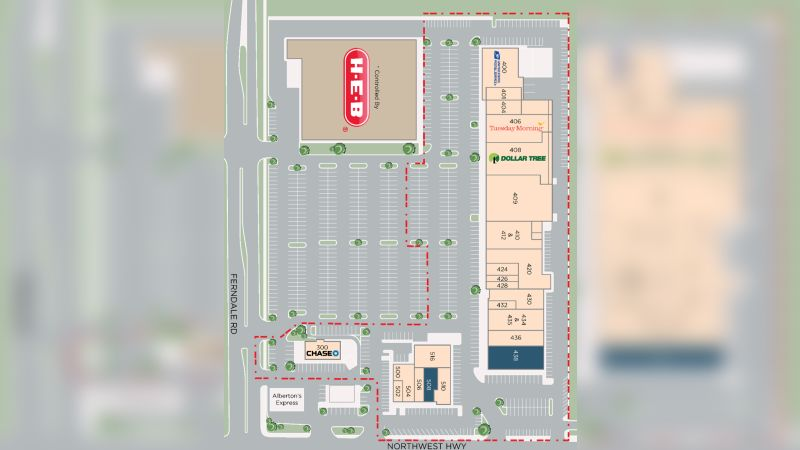 NEC Northwest Highway and Ferndale - Retail - Lease