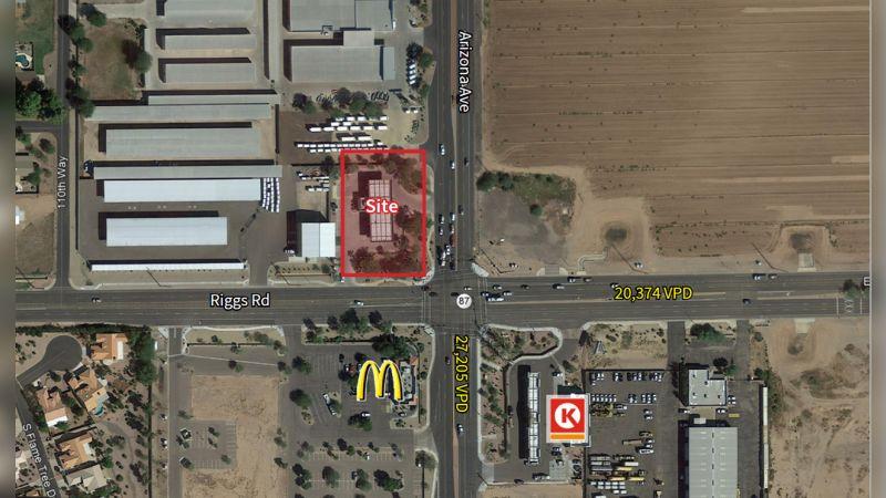 NWC Arizona Avenue & Riggs Road - Retail - Sale
