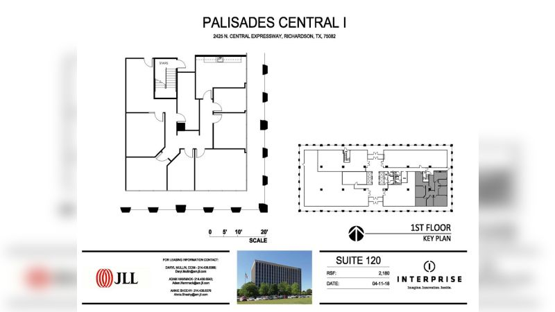 Palisades Central Tower I - Office - Lease