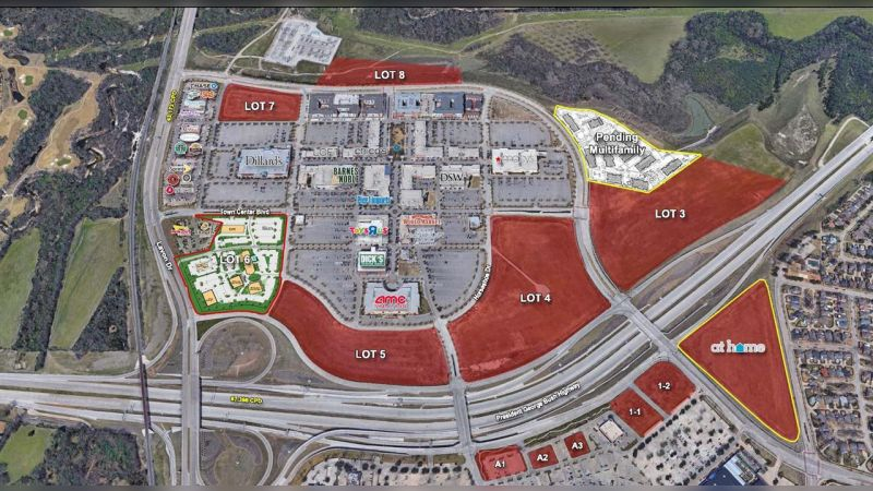 Firewheel Town Center | Pad Sites - Retail - Lease