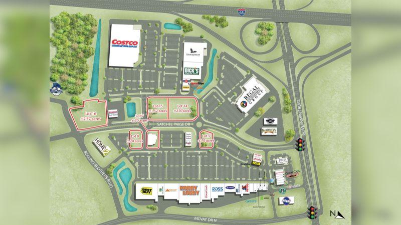 McGowin Park Outparcels - Retail - Sale, Lease