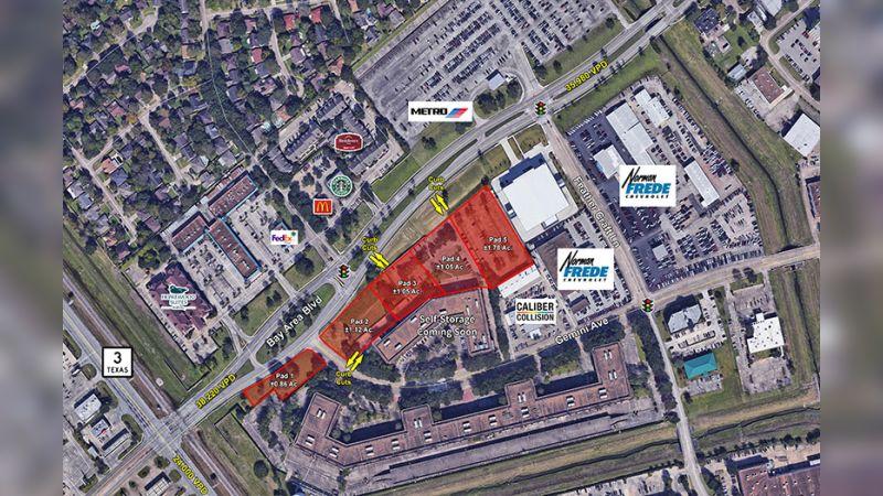501 Bay Area Blvd - Land - Sale