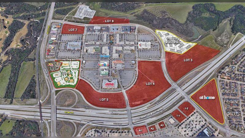Firewheel Town Center | Pad Sites - Retail - Lease, Sale