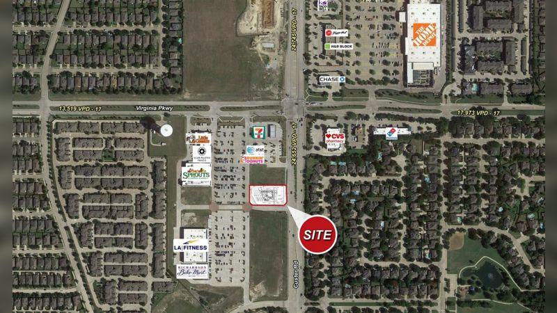 SWC Custer Rd & Virginia Pkwy - Retail - Sale