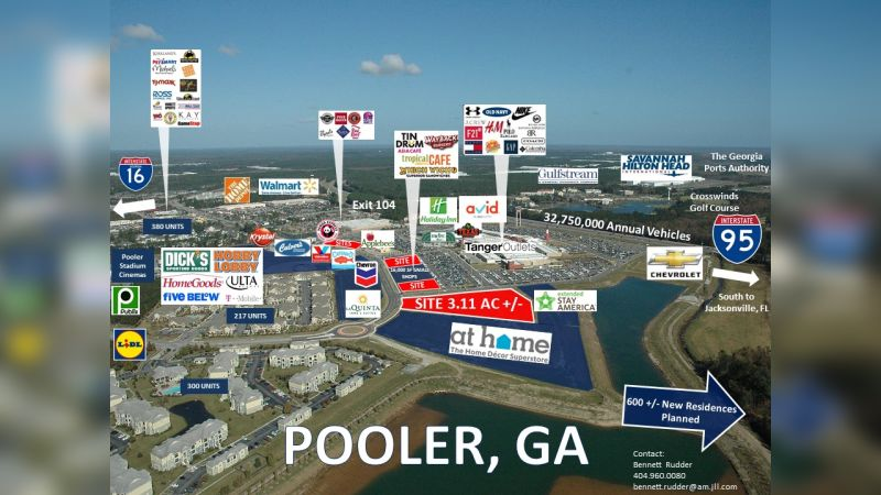 Pooler Outparcels - Retail - Lease