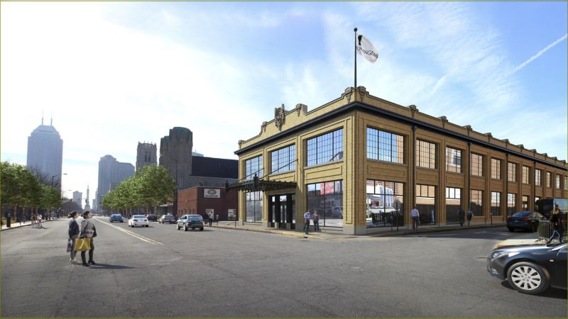 850 North Meridian Street - Office - Lease