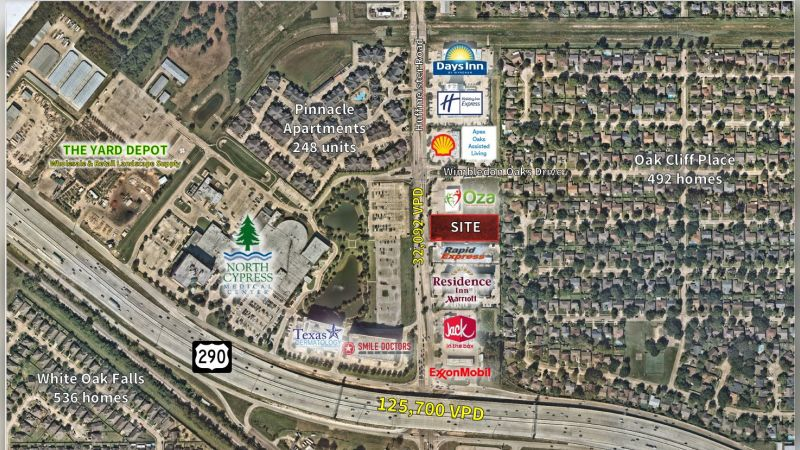 Hwy 290 and Huffmeister Road - Retail - Sale