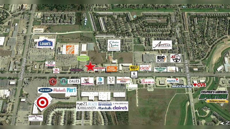 6608-F Highway 6 N - Retail - Sublease