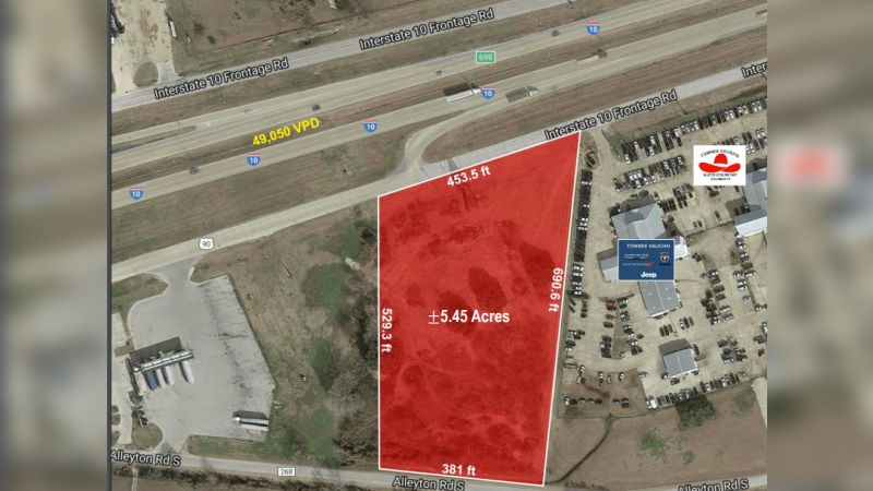 I-10 and Alleytown Road - Land - Sale
