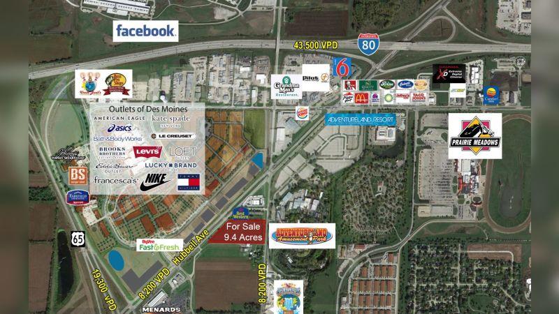 9.4 Acres  - Land - Sale