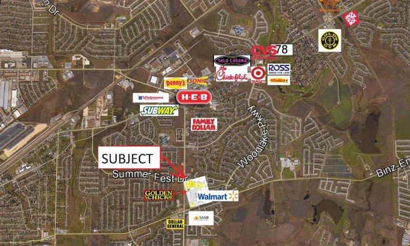 Foster Road Walmart - Retail - Sale - Property View