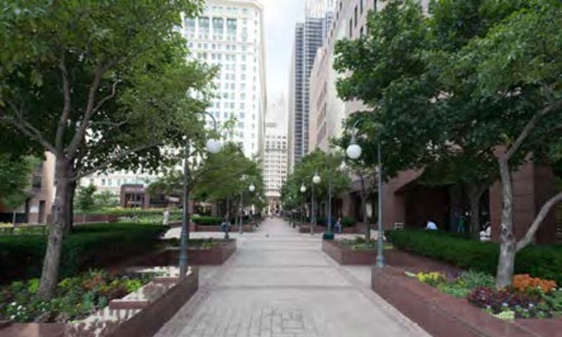 425 S Financial Pl - Office - Sublease - Property View