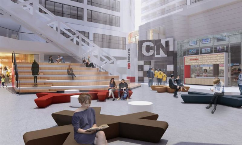 CNN Center - Retail - Lease - Property View