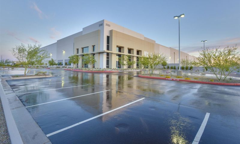 Airport - I-10 Business Park Phase I - Bldg E - Industrial - Lease - Property View