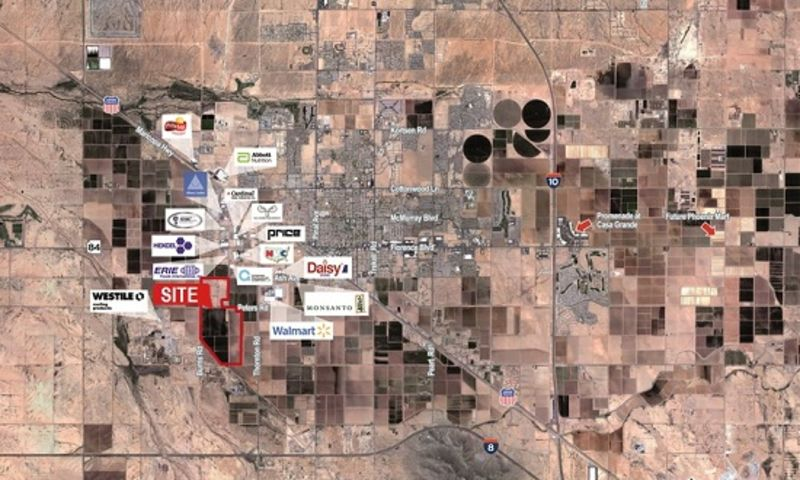 NEC Burris & Peters Rd - Land - Sale - Property View