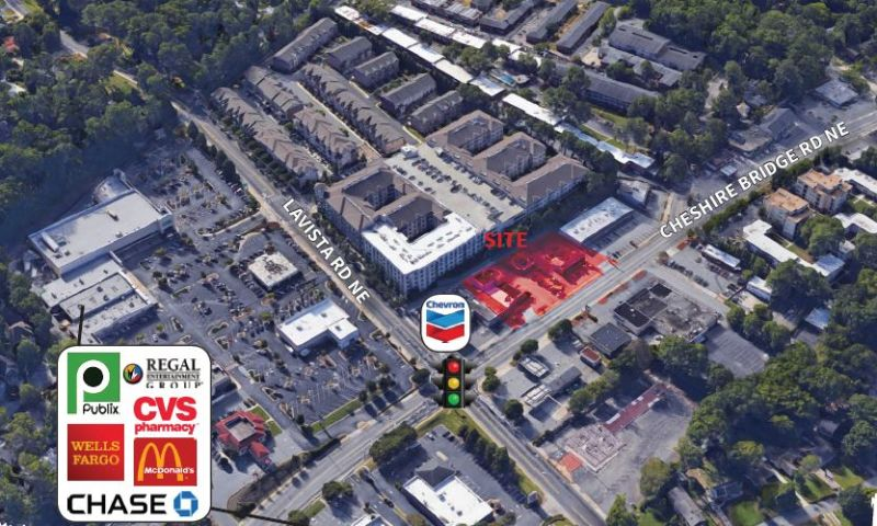 Cheshire Bridge - Retail - Lease - Property View