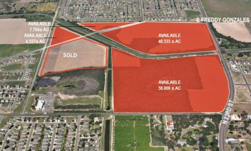 McAllen Land Tract - Land - Sale - Vista de la propiedad