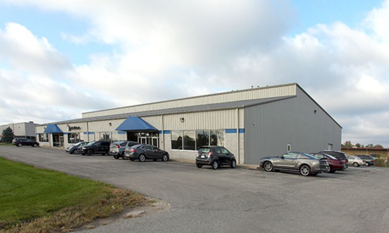 7040-7050 Guion Road - Industrial - Lease - Property View