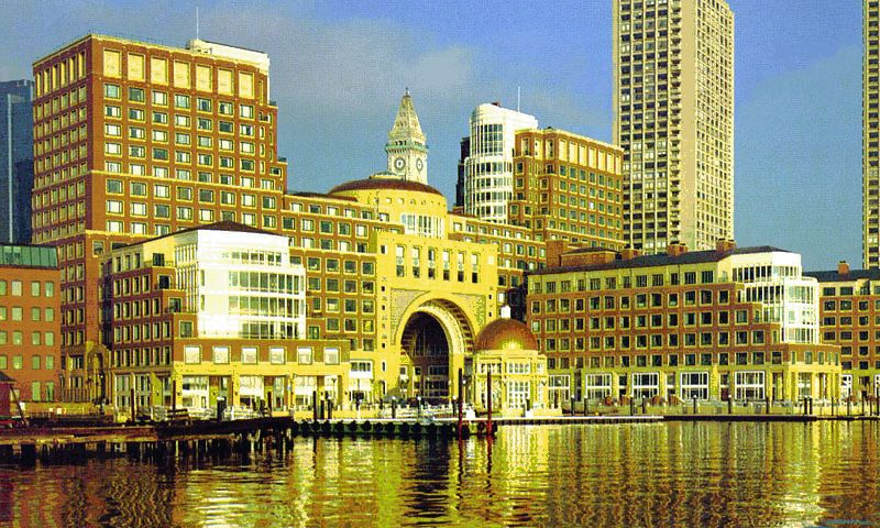 Central Wharf Building - Office - Lease - Property View