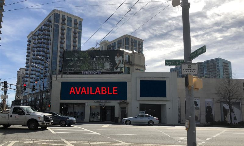 3077 Peachtree Road - Retail - Lease - Property View