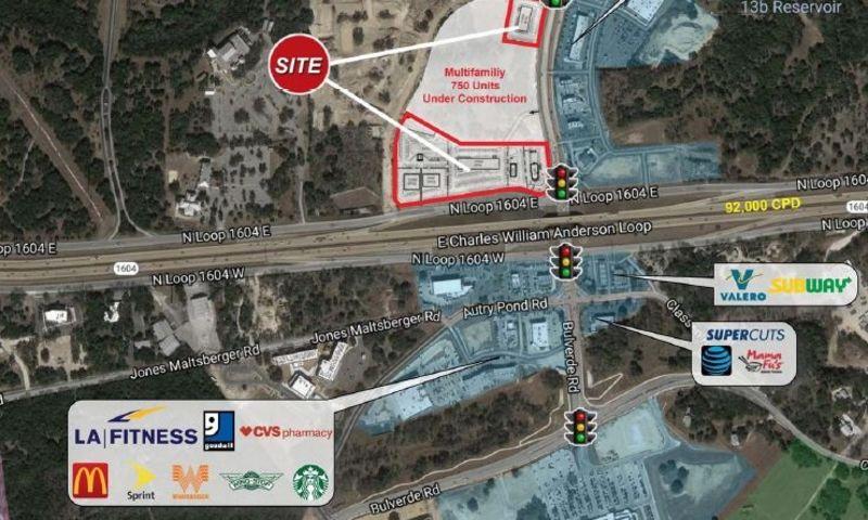 Bulverde at Loop 1604 - Retail - Lease, Sale - Property View