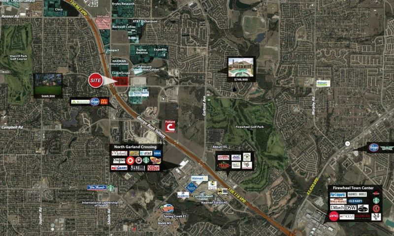 NEC State Hwy 190 & Lookout Drive - Retail - Sale - Property View