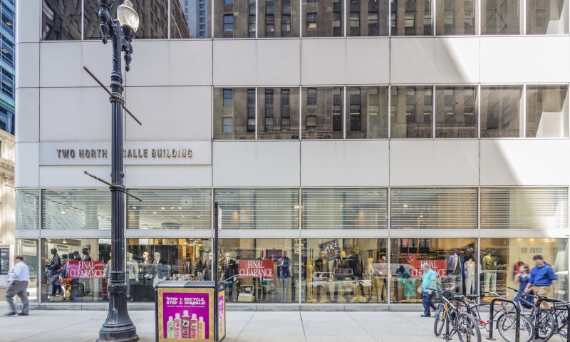 Two North LaSalle Building - Retail - Lease - Property View