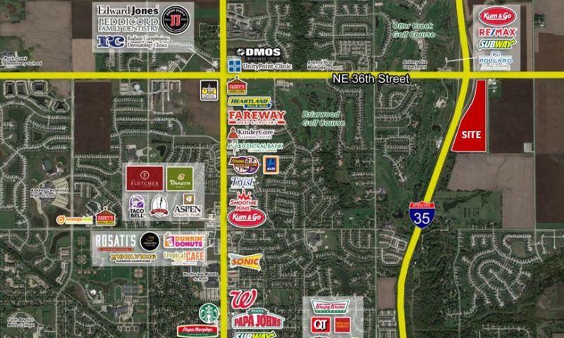 I-35 & NE 36th Street Land - Land - Sale - Property View