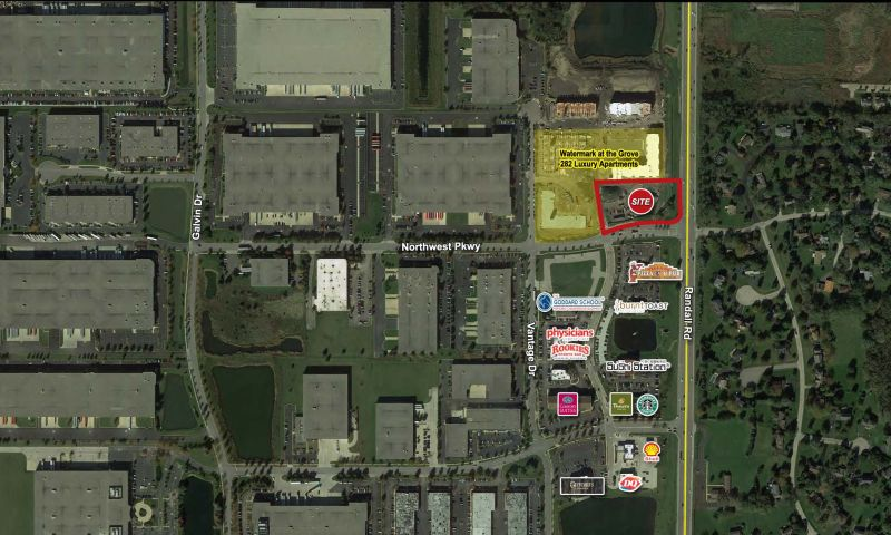 Randall Rd and Northwest Pkwy - Retail - Lease - Property View