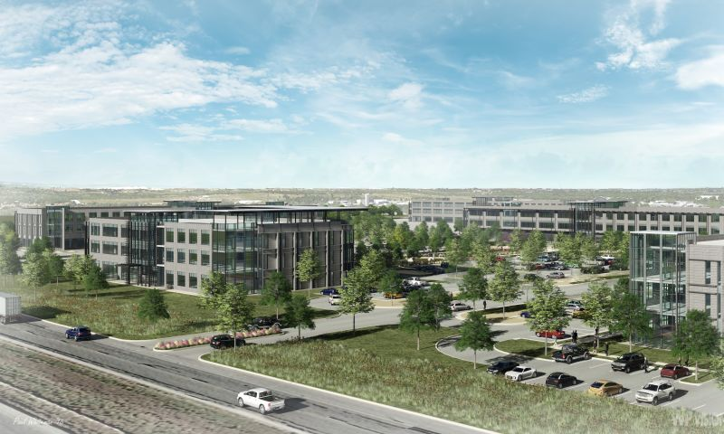 Met Center Office Campus Building 1 - Office - Lease - Property View