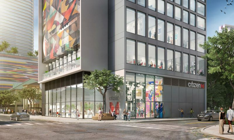 CitizenM Brickell - Retail - Lease - Property View