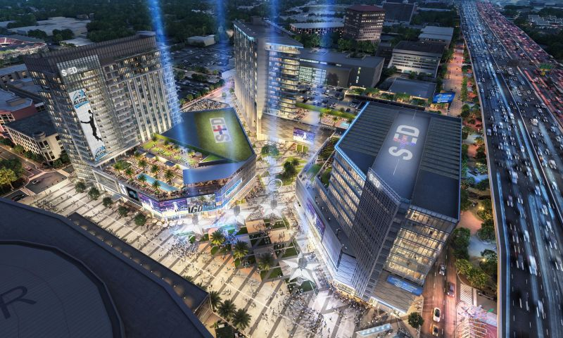 Sports & Edutainment District (SED) - Retail - Lease - Property View
