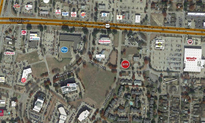 Bank of Texas McKinney Land - Retail - Sale - Property View