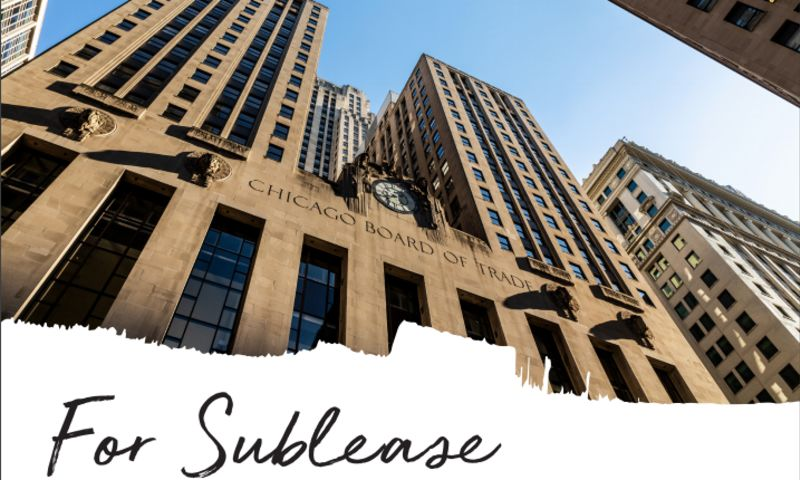 Chicago Board of Trade - South Building - Office - Sublease - Property View