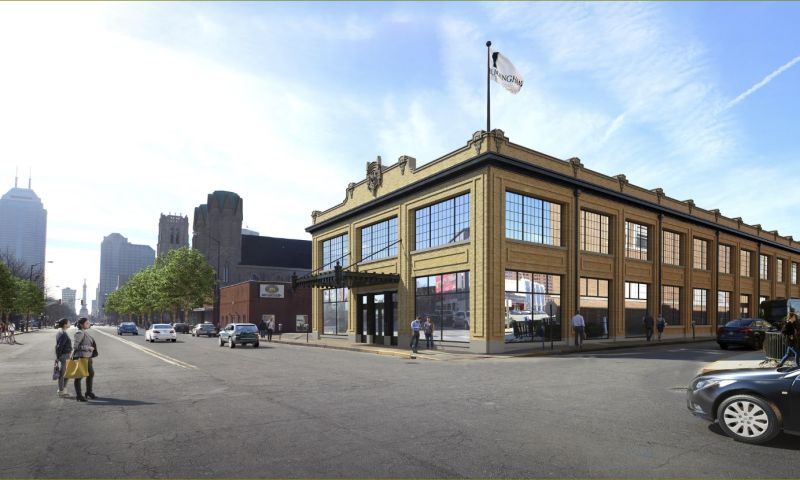 850 North Meridian Street - Office - Lease - Property View