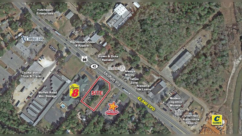 Moffett Road - Retail - Sale