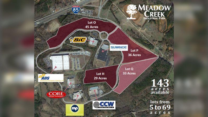 Meadow Creek Industrial Park - Land - Sale, Lease