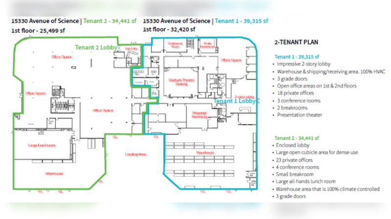 15330 Avenue of Science - Office - Sublease