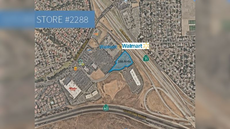 Walmart | Pomona Excess Land - Retail - Sale