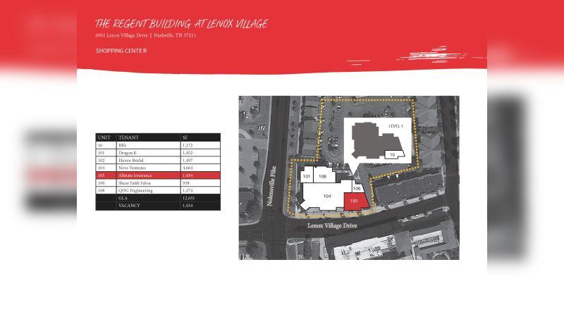 Regents Building @ Lenox Village - Retail - Lease